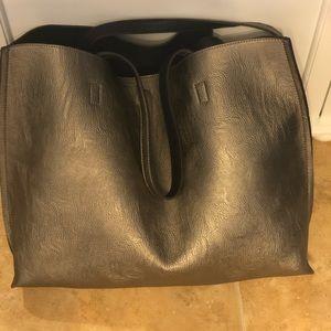 BP faux leather bag